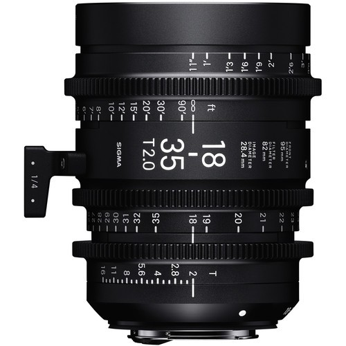 Объективы Sigma 18-35mm & 50-100mm T2 High-Speed Zoom Kit (Canon EF-Mount, Metric)
