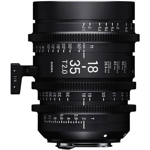 Объектив Sigma 18-35mm T2 High-Speed Zoom (Canon EF)