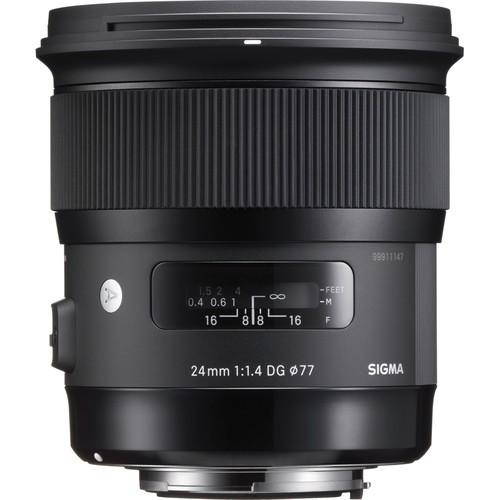 Объектив Sigma 24mm f/1.4 DG HSM Art для Canon