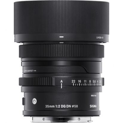 Объектив Sigma 35mm f/2 DG DN Contemporary для Sony E