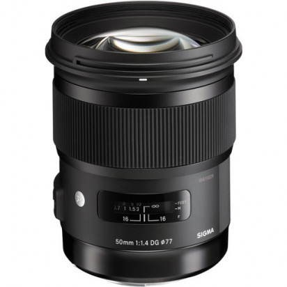 Объектив Sigma 50mm f/1.4 DG HSM Art для Nikon