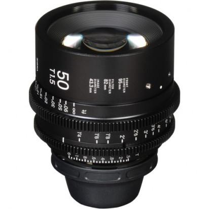Объектив Sigma 50mm T1.5 FF High-Speed Prime (EF Mount, Meters)