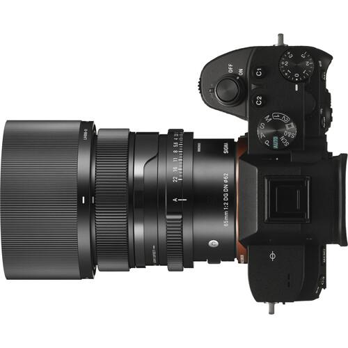 Объектив Sigma 65mm f/2 DG DN Contemporary для Sony E
