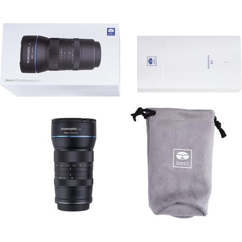 Объектив Sirui 24mm f/2.8 Anamorphic 1.33x Lens для Sony E-Mount