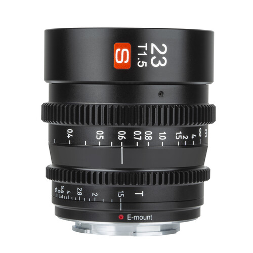 Объектив Viltrox 23mm T1.5 Cine Lens для Sony