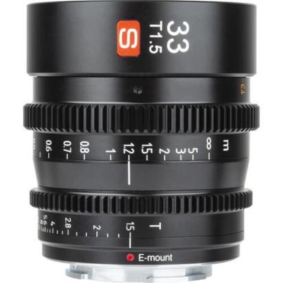 Объектив Viltrox 33mm T1.5 Cine Lens для Sony