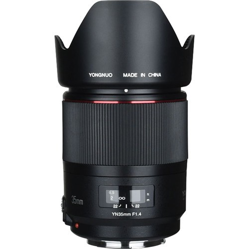 Объектив Yongnuo YN 35mm f/1.4 для Canon