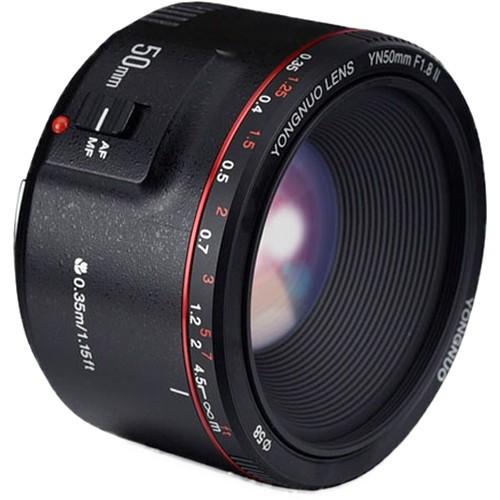 Объектив Yongnuo YN 50mm f/1.8 II для Canon