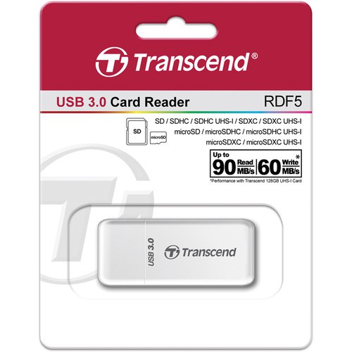 Картридер Transcend RDF5 USB 3.0 SDHC / SDXC / microSDHC/SDXC Memory Card Reader