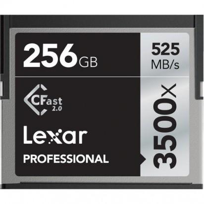 Карта памяти Lexar 256GB Professional 3500x CFast 2.0