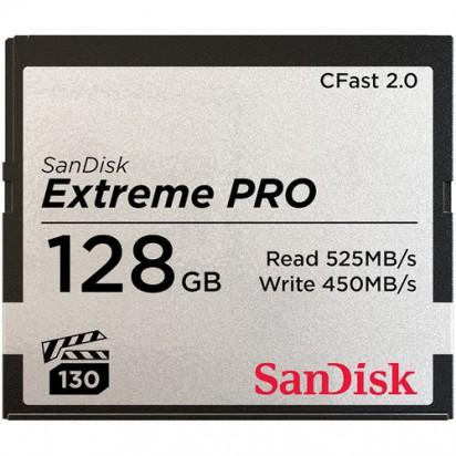 Карта памяти SanDisk 128GB Extreme PRO CFast 2.0