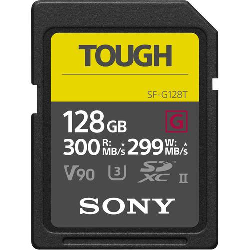 Карта памяти Sony 128GB SF-G Tough Series UHS-II SDXC Memory Card