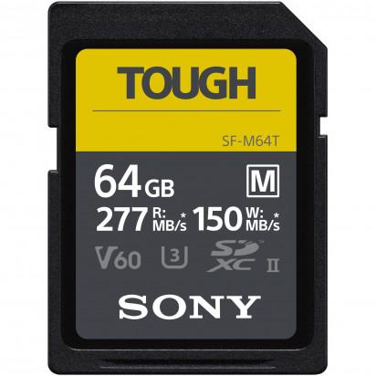 Карта памяти Sony 64GB SF-M Tough Series UHS-II SDXC 150Mb/s