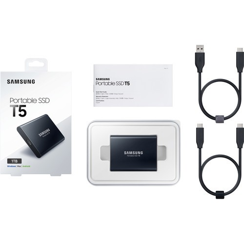Внешний жесткий диск Samsung 1TB T5 Portable Solid-State Drive