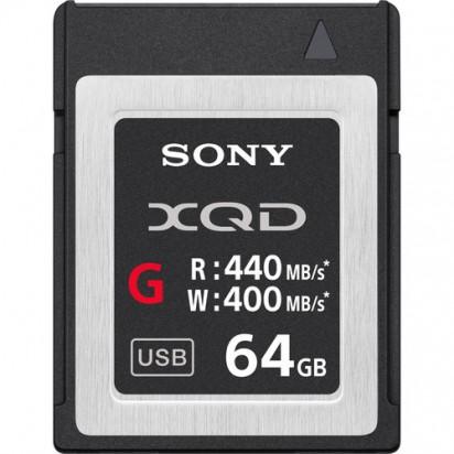 Карта памяти Sony 64GB XQD G Series Memory Card