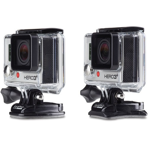 Крепление GoPro Curved + Flat Adhesive Mounts