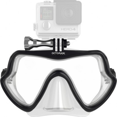 Подводная маска для GoPro Octomask Frameless Scuba Mask