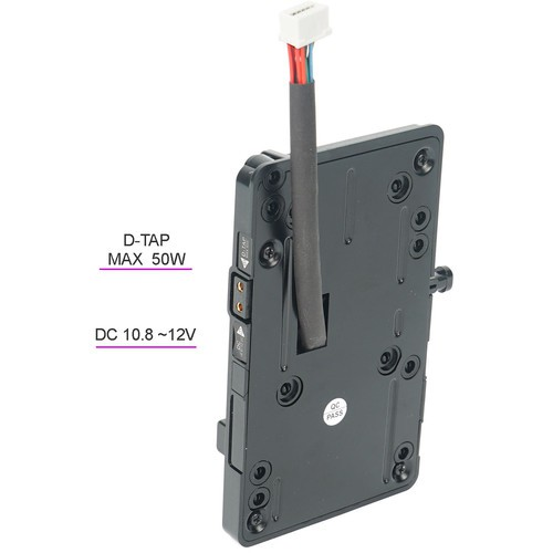 CAME-TV V-Mount Battery Plate для Blackmagic Design URSA Mini