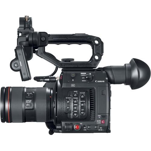Кинокамера Canon EOS C200 EF KIT 24-105mm f/4L IS II USM