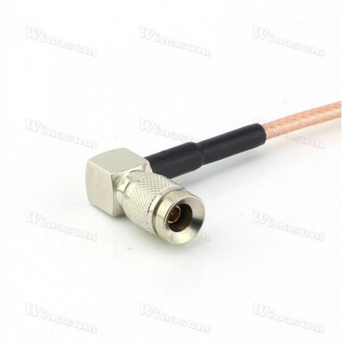 Кабель HD SDI BNC / Right Angle DIN 1.0/2.3 Cable 30cm