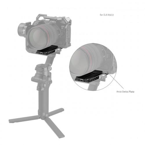 Площадка SmallRig Quick Release Plate with Arca-Swiss для DJI RS 2/RSC 2/Ronin-S 3061