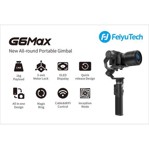 Электронный стабилизатор Feiyu G6 Max