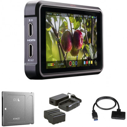 "Монитор-рекордер Atomos Ninja V 5"" 4K Recording Monitor + 1TB Angelbird AtomX SSDmini Kit"