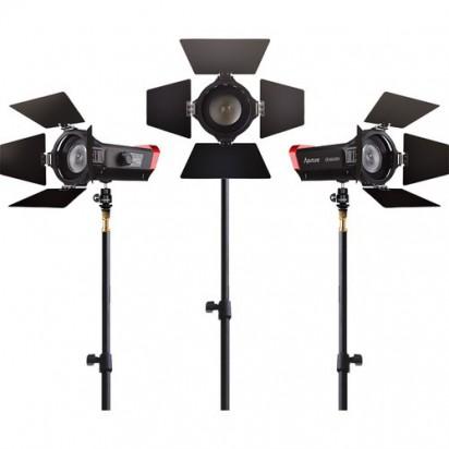Комплект светодиодных осветителей Aputure LS-mini20 3-Light Flight Kit with Stands (ddc) (студийный вариант только от 220V)