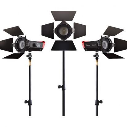 Комплект светодиодных осветителей Aputure LS-mini20 ddd 3-Light Flight Kit with Stands (ddd)