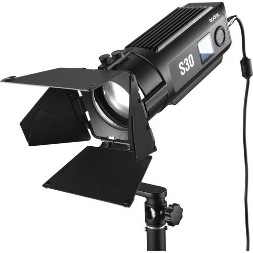 Комплект светодиодных осветителей Godox S30-D Focusing LED 3-Light Kit