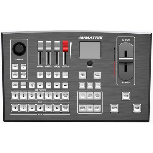 Видеомикшер AVMatrix PVS0605 Portable 6-Channel 3G-SDI/HDMI