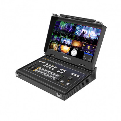Видеомикшер AV Matrix PVS0613 Portable 6-Channel Video Switcher with 13.3' LCD monitor