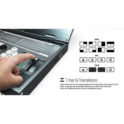 Видеомикшер AVMatrix PVS0615 Portable 6-Channel Video Switcher with 15.6