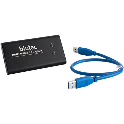 Карта видеозахвата BLUTEC 4K HDMI to USB 3.0 Video Capture Device