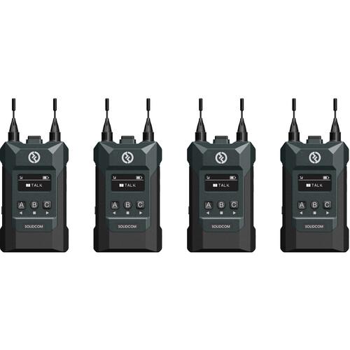 Беспроводной интерком Hollyland Solidcom M1 Full-Duplex Wireless Intercom Solution 4 абонента