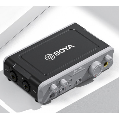Двухканальный аудиомикшер BOYA BY-AM1