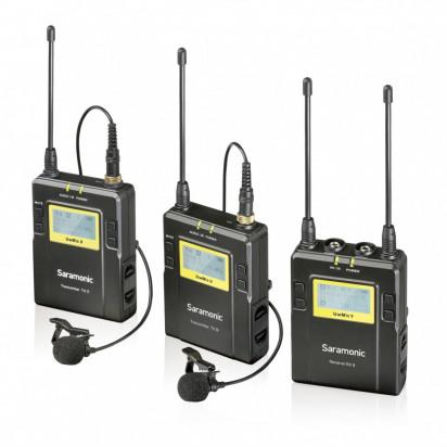 Радио петличный Saramonic UwMic9 TX9+TX9+RX9