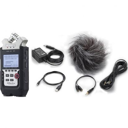 Рекордер Zoom H4n Pro + аксессуары для Zoom APH-4nPro