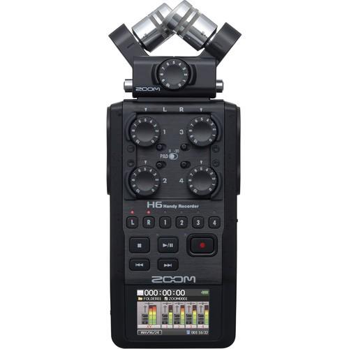 Рекордер Zoom H6 All Black